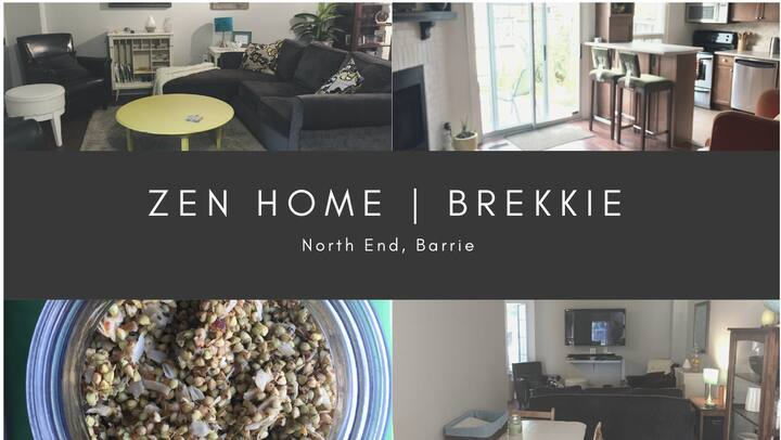 Zen Home with Healthy Brekkie