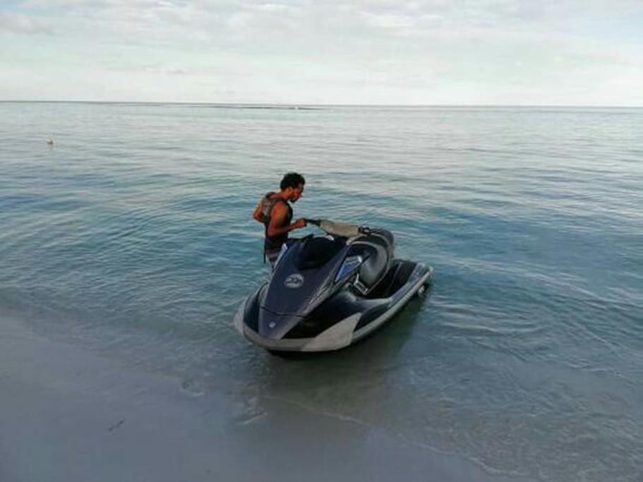 Our activities jet skiing