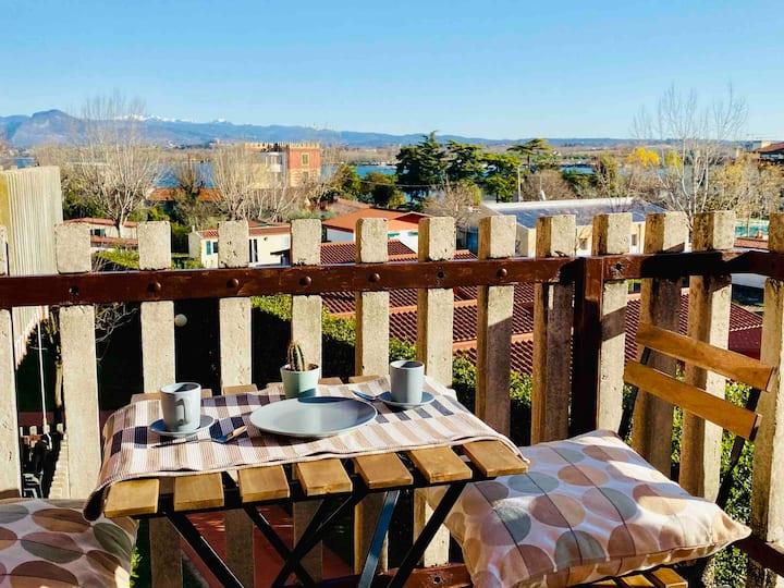 Residenza Cappuccini: relax vista Lago a Peschiera