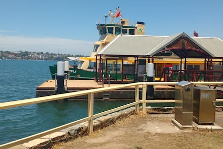 Valentia St Ferry & SydneyHarbour at your Doorstep - Woolwich - Rumah