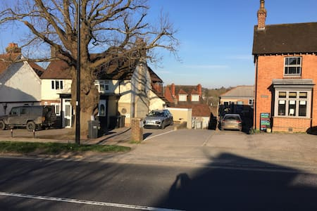 Whole village centre  flat for mobility impaired