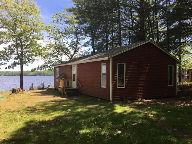Two Cottages on Damariscotta Lake in Jefferson, Maine