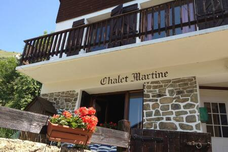 Chalet Martine 90m² Ski 100mètres - Huez - Almhütte