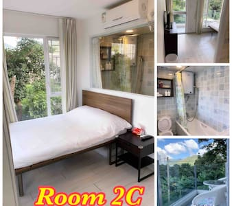 Double bed room w/balcony 東涌鄉村雙人露台房
