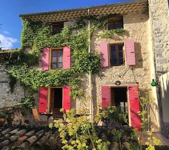 Maison de charme au coeur de la Drôme provençale - Sainte-Jalle - Haus