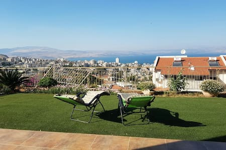 Great view to Sea of galille - Tiberias