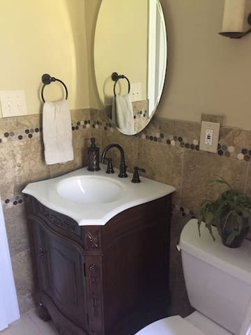 New bathroom with traditional decor