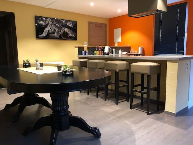Appartement cosy et welness à Seneffe