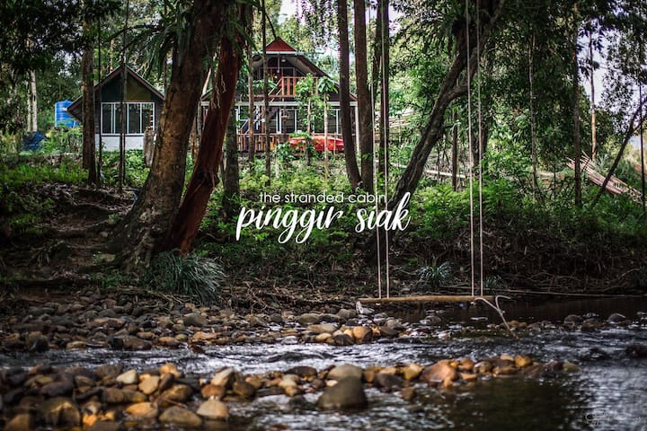 Stranded Cabin by the River - Pinggir Siak