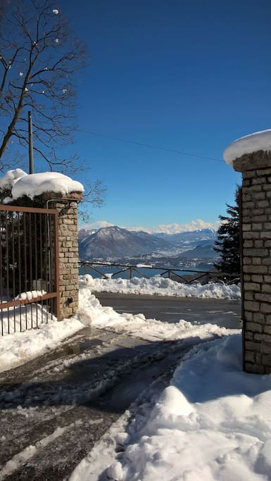Main Gate with spectacular see view