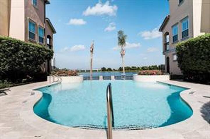 Clear Lake Luxury Mediterranean Villa