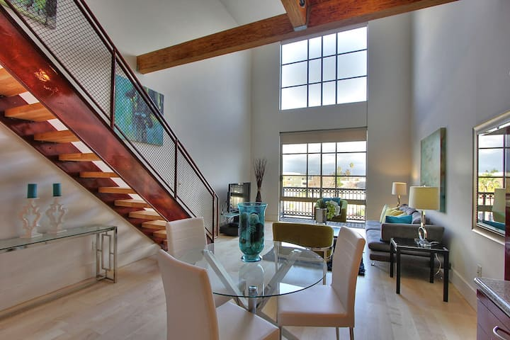 Santana Row Luxury Executive 2 Story Loft