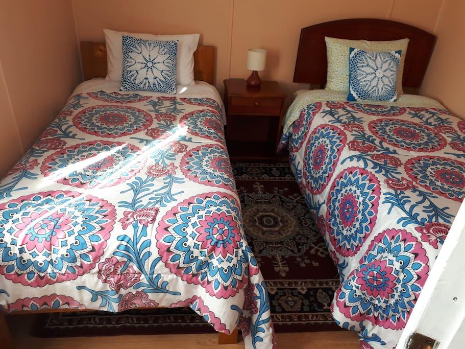 Dormitorio nro. 2, 2 camas