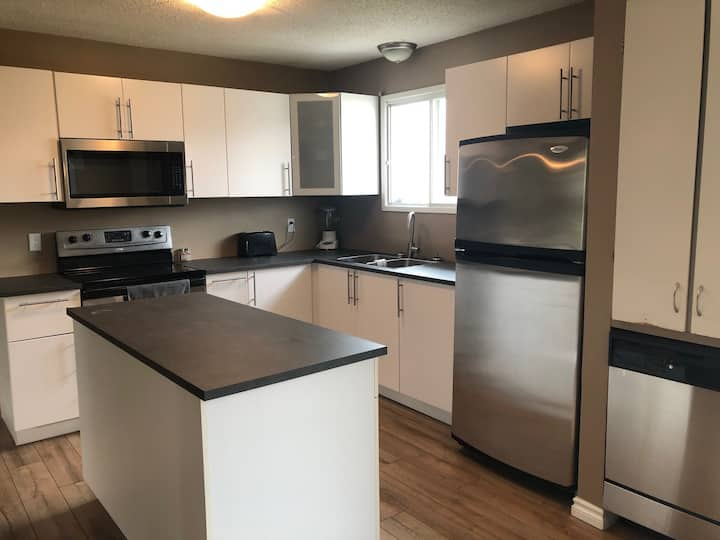 4 Bedroom, 2 Bath House For Rent in Peace River