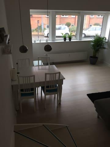 Stor lejlighed i gåafstand til byen - Odense - Lägenhet