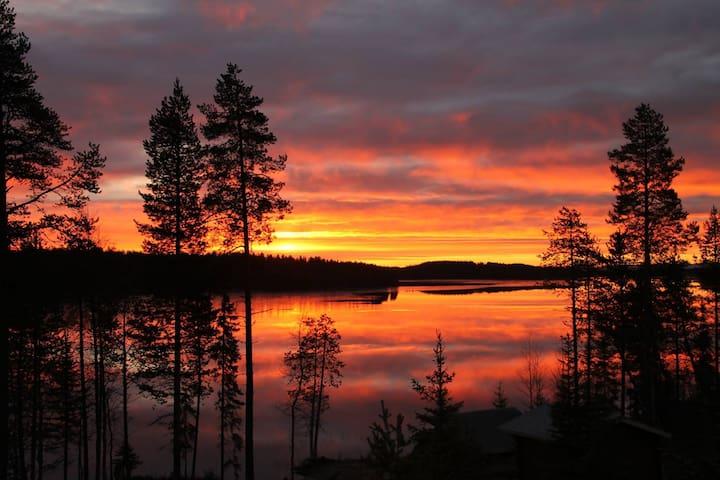 Villa in the peace of nature, near Rukatunturi - Kuusamo - Huis