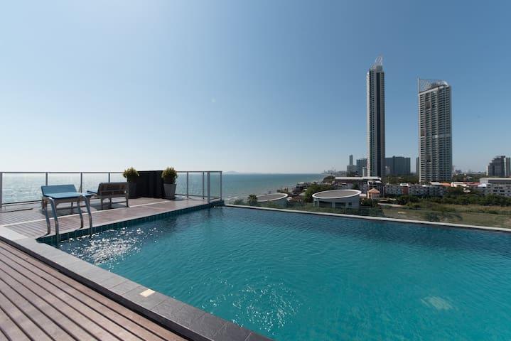全新芭提雅*阿芭尼*海景公寓810 (标准双床房) - Pattaya