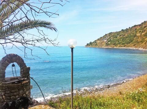 Villa Calamona: appartamento con spiaggia privata