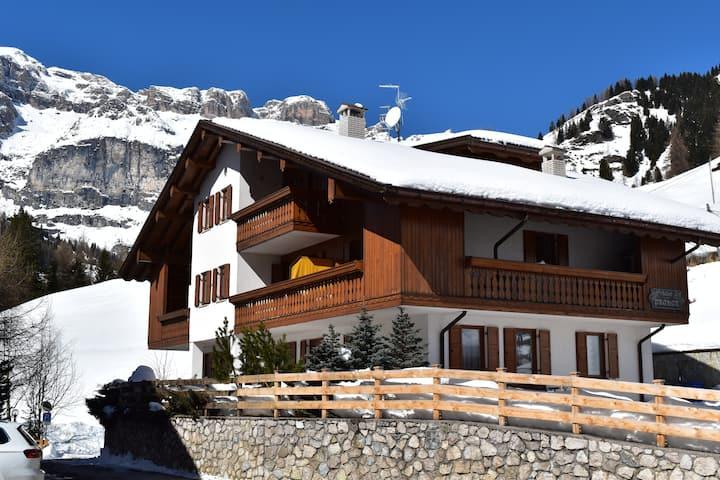 Appartamento Pizac-Chalet Pradat-Dolomiti-Superski