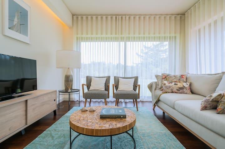 Apartamento de luxo num condomínio excecional
