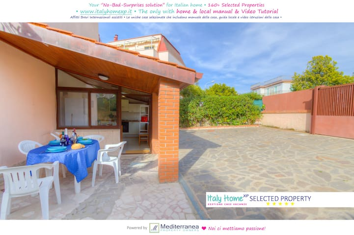 Home 6sleeps 2btrs Beach @50m Parking Quiet Area - Formia - House