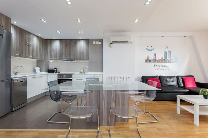 smart olympic  apartment