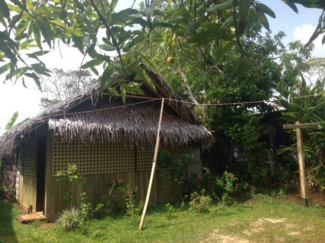 Traditional house in Luganville