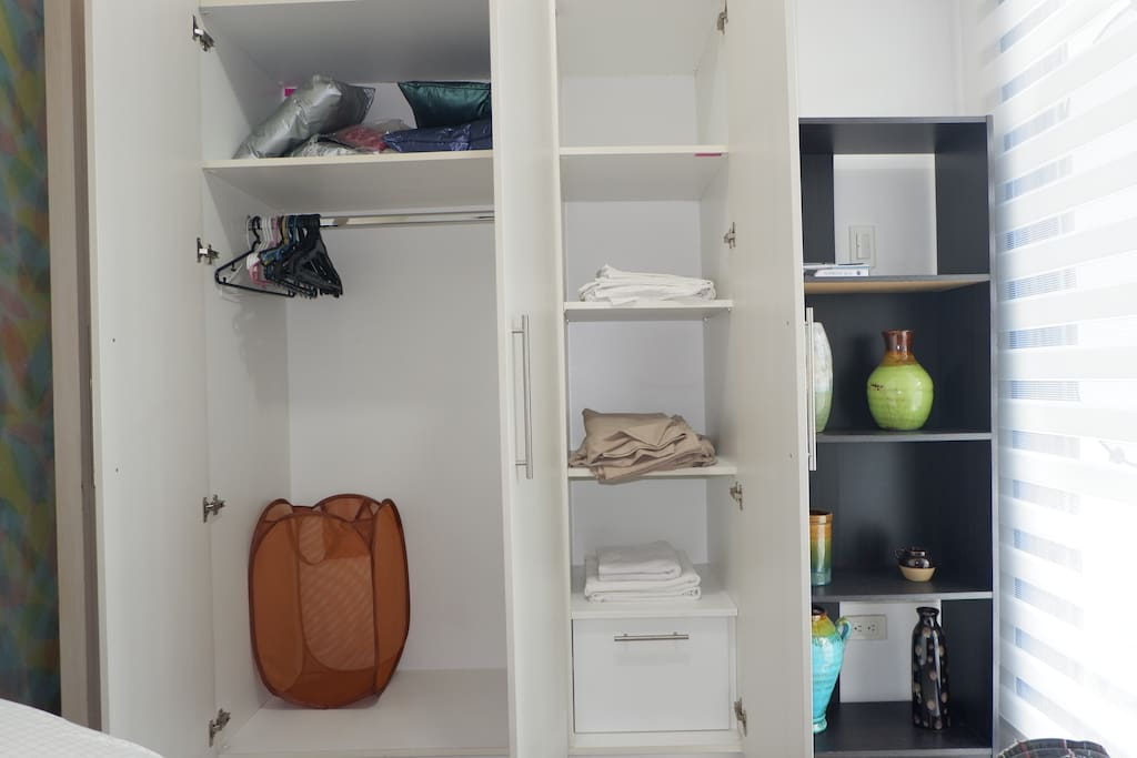 Bedroom Cabinet and Shelves
