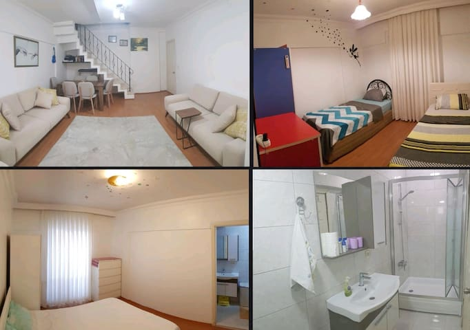 Comfortable-2 Room-near Airport(SAW)