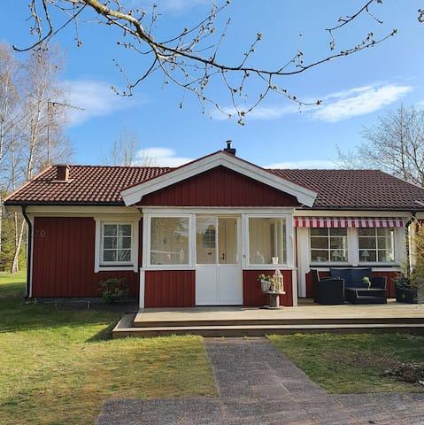 Hus på vackra Oknö