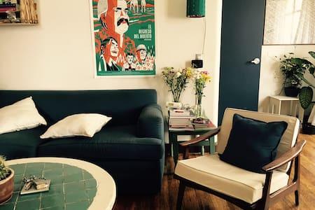 Comfy&Private room w/private bath - 墨西哥城(Ciudad de México) - 公寓