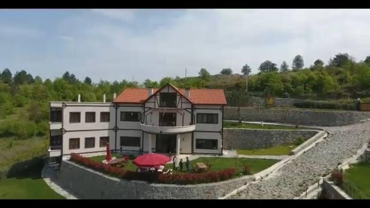 قصر كبيرللإيجار وللبيع و يحتوي على تحف و قطع