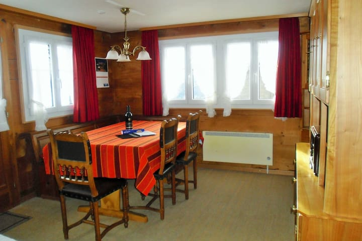 Chalet Grazia, Riederalp  Panorama Two-Bedroom Apartment