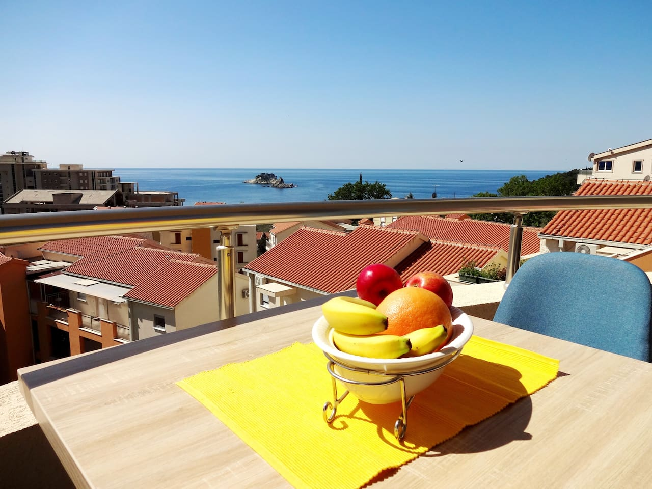 Family apartment,with amazing sea view