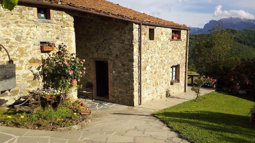 Sunny cottages, Tuscany Garfagnana - Giuncugnano