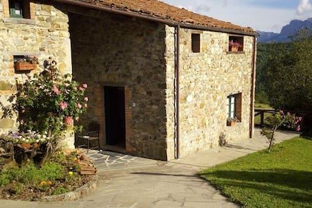 Sunny cottages, Tuscany Garfagnana - Giuncugnano - Appartement