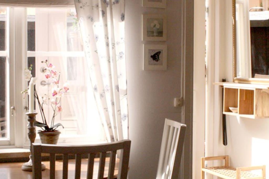 Ljus och fräsch villa med kabelTv och bredband.