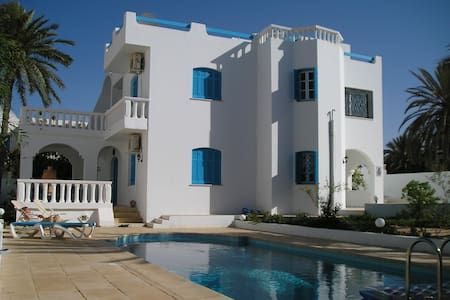 Villa individuelle avec piscine - zarzis