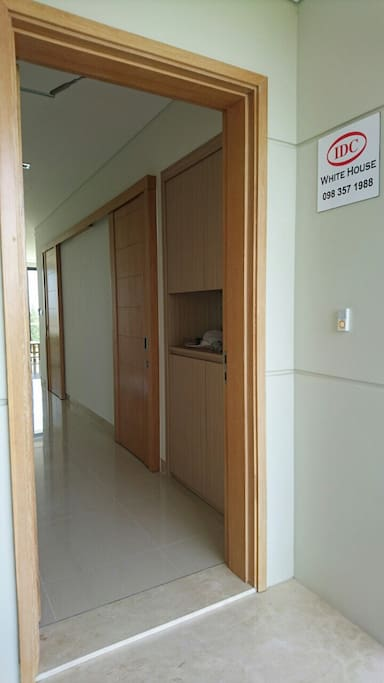 Entrance of appartment