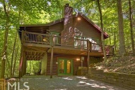 Cozy cabin in the woods - Ellijay - Kisház