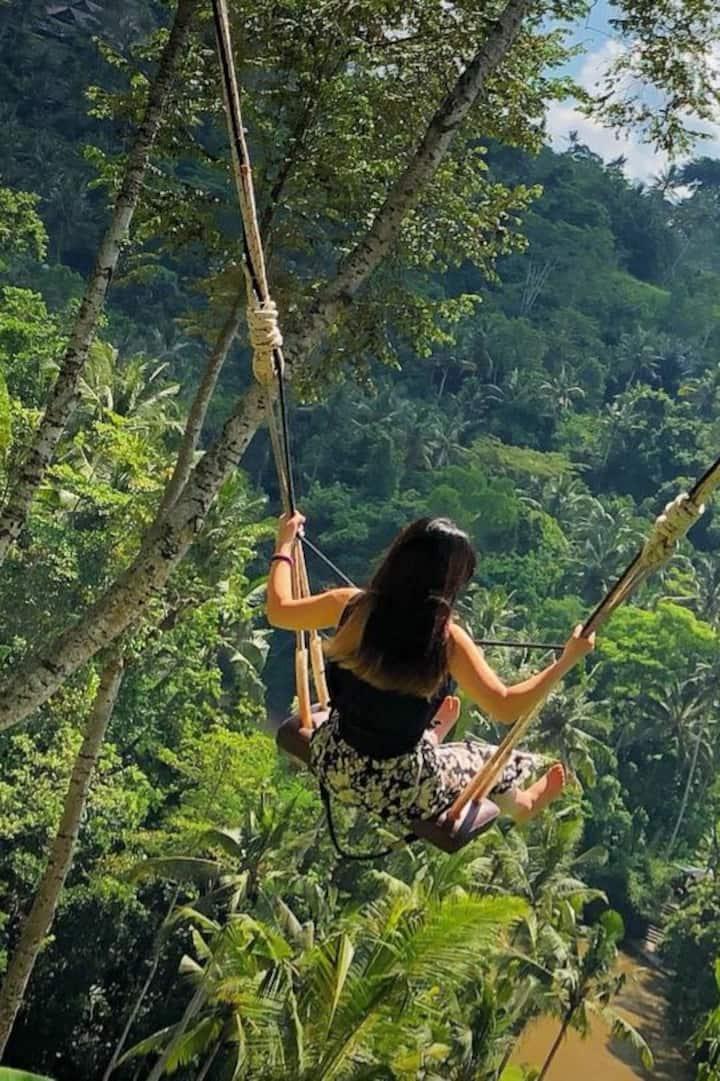 Rice Terrace Swing Tegallalang