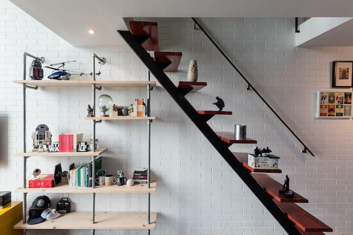 Top floor duplex | 100MBPs WiFi Netflix| IKEA, 1 U