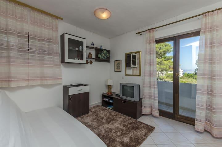 Studio Apartment, seaside in Mirca - island Brac, Terrace