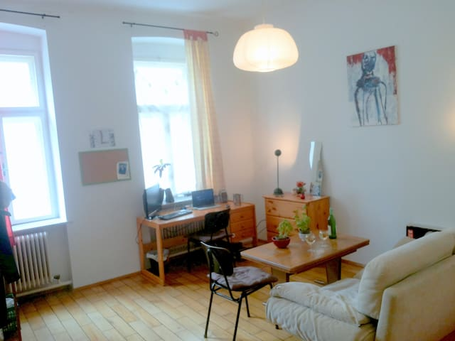 Big room in exciting student apartment - Vienna - Appartamento