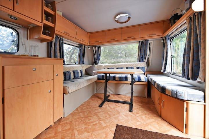 Hébergement insolite en pleine garrigue - Arpaillargues-et-Aureillac - Camper/RV