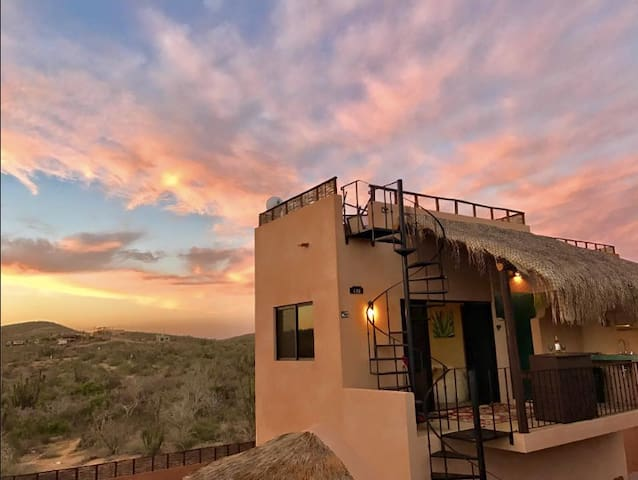 Sunset Casita at Cerritos Beach! Pool and hot tub! - el Pescadero - Apartment
