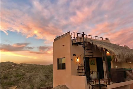 Sunset Casita at Cerritos Beach! Pool and hot tub! - el Pescadero - Leilighet