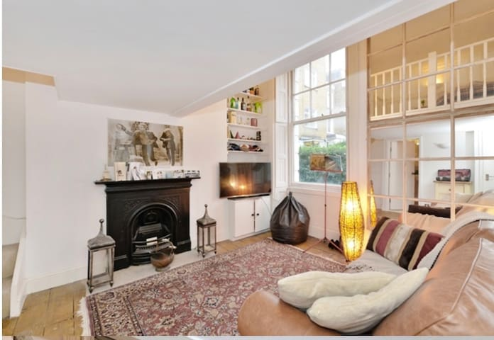 Elegant apartment right on Clapham Common