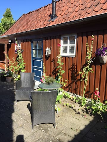 Private Annex at Haderslev. Close to City centre.