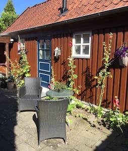 Private annex at Haderslev. Near city centre.
